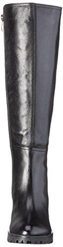Caprice 25602 - Botas altas para mujer Negro (BLACK COMB 019)