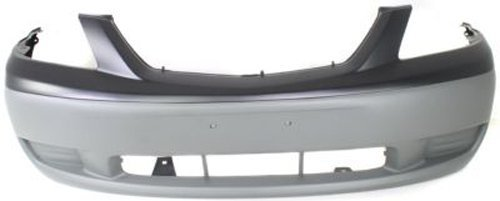 Crash Parts Plus Primed Front Bumper Cover Replacement for 2000-2001 Mazda MPV