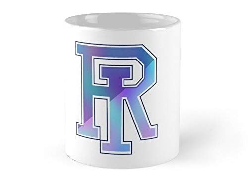 Of Rhode Island Color Blur 11oz Mug - Great gift for family and friends.