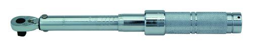 Stanley Proto J6006NMC 3/8-Inch Drive Ratcheting Head Micrometer Torque Wrench, 16-80Nm ()