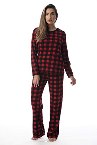 Just Love Womens Printed Thermal Fleece Sets 6727-10320-3X -