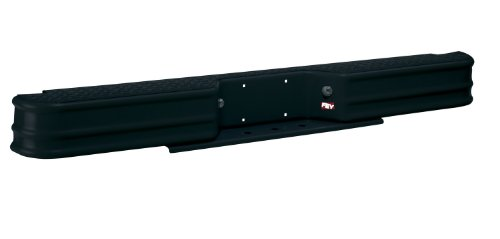 Fey 20009 DiamondStep Universal Black Replacement Rear Bumper (Requires Fey vehicle specific mounting kit sold separately) - Gmc C1500 Rear Bumper