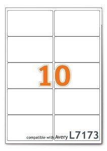 A4 Dirección de Correo hojas de etiquetas Impresora de etiquetas por hoja 1 100 Hojas 1 Box