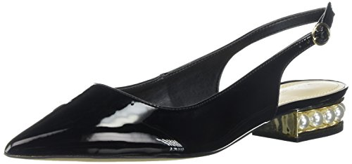 Marc Fisher Womens Rise Ballet Flat Black