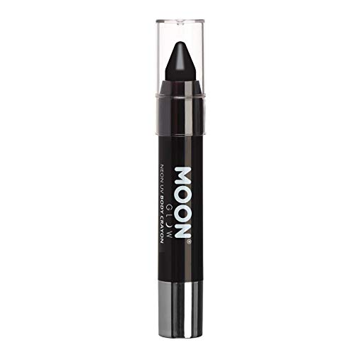 Moon Glow – Neon UV Paint Stick Body Crayon for The Face & Body – Black