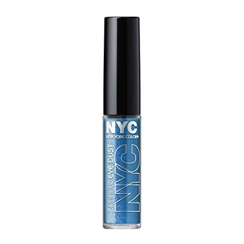 N.Y.C. New York Color Sparkle Eye Dust, Brilliant Sapphire,