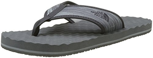 - The North Face  Men's Base Camp Flip-Flop Zinc Grey Wind Print/Weathered Black 12 D US