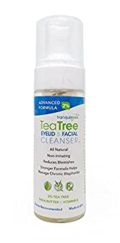 Advanced Formula Tea Tree Eyelid and Facial Cleanser 180 mililiters