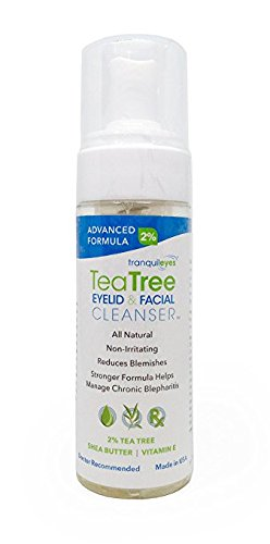 Advanced Formula Tea Tree Eyelid and Facial Cleanser (180 mililiters)