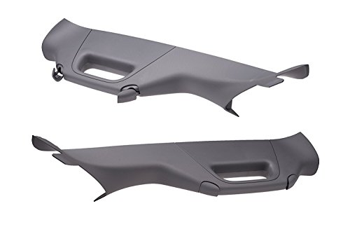 2011-2016 Ford F250 F350 Super Duty A Pillar Handles Right & Left Gray Trim OEM (Handle Grab 2011)