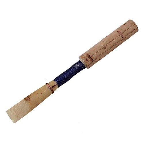 Yibuy Wood Oboe Reeds Medium 2.5 with Protecting Holder Set of 5 by Yibuy (Image #2)