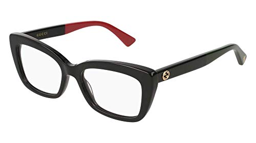 Gucci GG 0165 O- 003 BLACK Eyeglasses (Optical Frames)