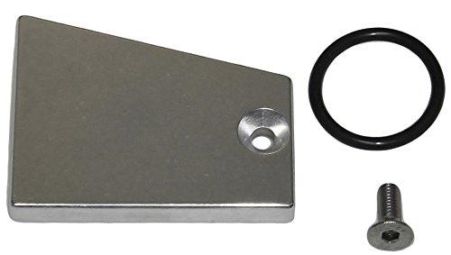 Intake Manifold Plug (LS1 Intake Plug EGR Delete Block Off Plate Kit Camaro LSX Z28 Manifold Trans)