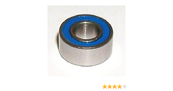 S637-2RS Stainless Steel Miniature Ball Bearing 7x26x9 Bore ID 7mm x 26mm x 9mm