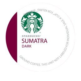 STARBUCKS SUMATRA Intermingle COFFEE K CUP 96 COUNT