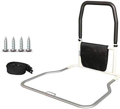 アシストハンドル 収納ポケット付き, 強い支持力シートベルト付きハンドベッドレール, 安全ハンドガードホームベッドアシストハンドル高齢者、妊婦、障害者への贈り物 (Size : B)