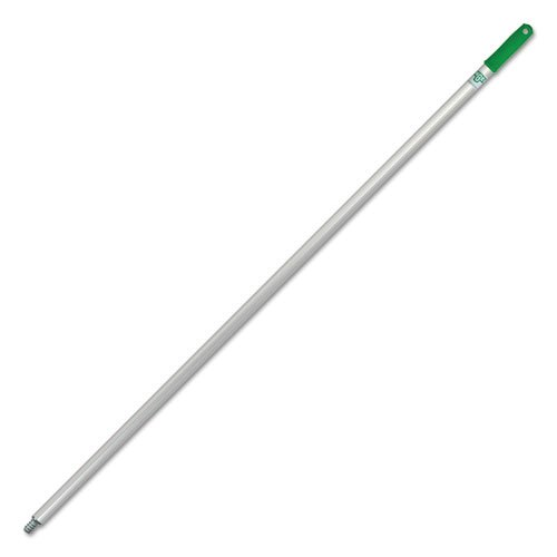 Unger Cleaning Aluminum Threaded Handle For Sanitary Floor Squeegee / Brush Combo - 58''L