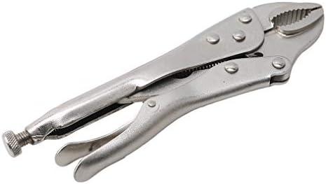 Yesiidor Professionelle Mundzange mit rutschfestem Griff Hochbauklemmzange Arbeitssparende Werkzeuge zum Reparieren,Silber 1