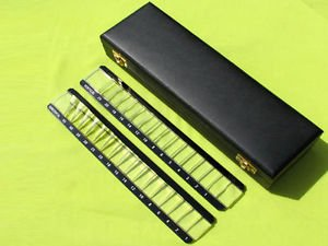 Ajanta Vertical & Horizontal Prism Bar Set in Case Ophthalmic and Aei- 105-Y from Ajanta