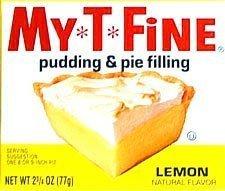 My-T-Fine Pudding Mix Lemon - 24 Unit Pack