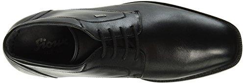 Sioux Kavus-tex - botas de caña baja con forro cálido para hombre Negro