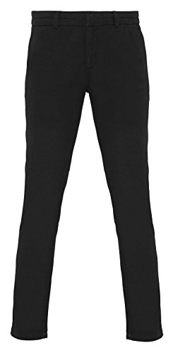 Asquith & Fox Womens Classic Fit Chino - 6 Colours/XS-2XL - Black - 2XL (Best Female Snowboarder 2019)