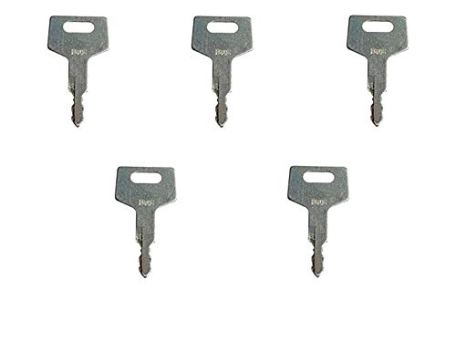 H806/180845 Ignition key for Gehl, Hitachi, Mustang, New Holland, Takeuchi 5 keys from abc_zok