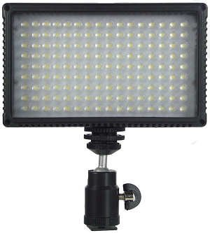 Alzo 792 Color Temperature Adjusting Led Video Light- 72 Daylight Leds And 72 Warm White Leds Allow for Color Temperature Selection by ALZO Digital