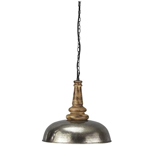 Antique Silver Pendant Light - 9