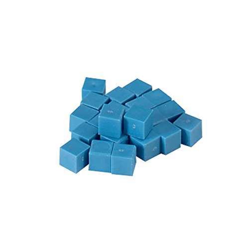 ETA hand2mind Blue Plastic Base Ten Units, Set of 100