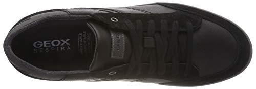 Box U da F Nero Geox Black Ginnastica Uomo C9270 Anthracite Scarpe Basse AZ5fqqw1