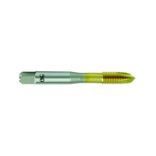 TiN OSG USA 1111505705 M12 x 1.25 Dia - H5-3 FL Plug Spiral Point Tap HSSE