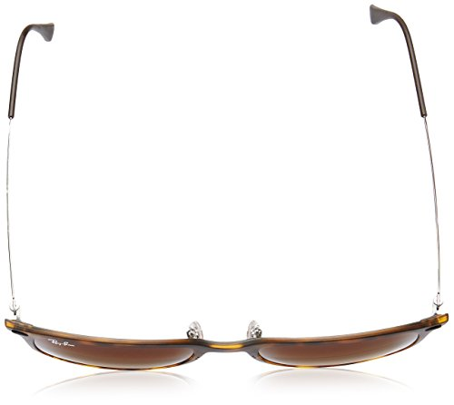 Ray-Ban INJECTED MAN SUNGLASS - MATTE HAVANA Frame GRADIENT BROWN Lenses 52mm Non-Polarized