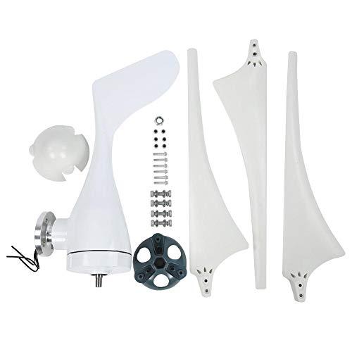 300W Windturbinengenerator , 630 mm Nylonfaser-Windblätter Power Windmill , Dreiphasen-Permanentmagnet-Wechselstromgenerator , Hybrid-Windturbinengenerator(24V)