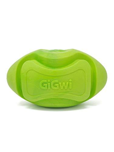 - Gigwi Foam Ball Dog Toy Green Football