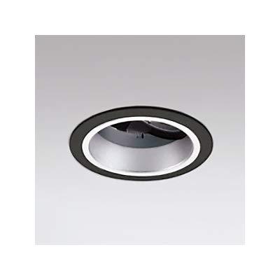 LEDユニバーサルダウンライト M形深型φ100 JR12V50W形 高彩色形 ミディアム配光 連続調光 ブラック 電球色 B07RYR2DGP