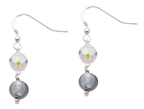 Valentina - 50087 - Boucles d'Oreille Femme - Argent 925/1000 0.3 Gr - Cristal