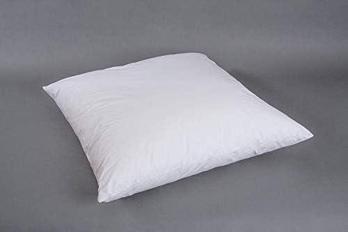 Edredón Cojín Lisa 80 x 80 cm Cojín relleno almohada algodón: Amazon.es: Hogar