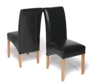 Cool Set Of 2 Chelsea Black Scroll Top Dining Chair By Pavorio Caraccident5 Cool Chair Designs And Ideas Caraccident5Info