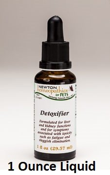 Newton Labs Homeopathics Remedy Pets Detoxifier 1oz Liquid