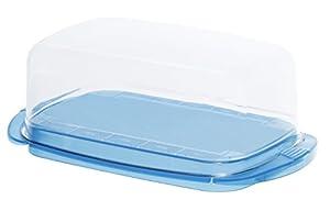 Rotho Butterdose Fresh aus Kunststoff (SAN), tischfeine Aufbewahrungsbox für...