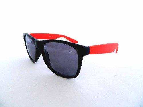 New Wayfarer Cateye Retro Style Multi-Color Sunglasses - Dark Grey Lens - Business Risky Tom Sunglasses Cruise