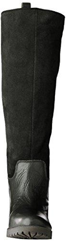 Lucky Brand Nogales Damen US 5 Schwarz Mode-Knie hoch Stiefel