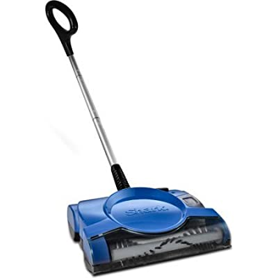 "Rechargeable Floor and Carpet Sweeper, 10"" cleaning path with Quiet operation V2700Z by Shark"
