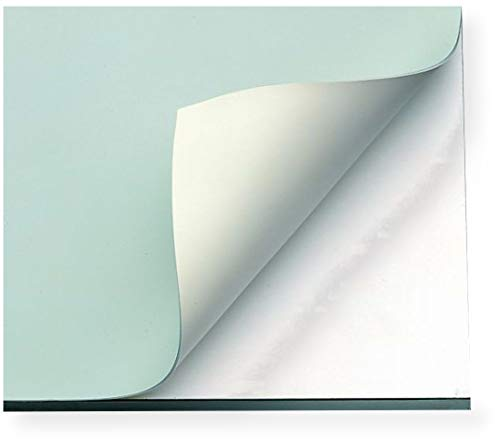 Alvin, VYCO, Board Cover, Stain Resistant and Self Sealing, Green/Cream Sheet – 37.5 x 72 Inches