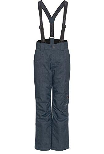 Rossi, Strukturierte Mädchen Skihose, Wasserdicht, Mädchen, Größe 146/52, dunkelgrau