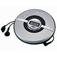 Sony Cd Walkman D-EJ100 Silver
