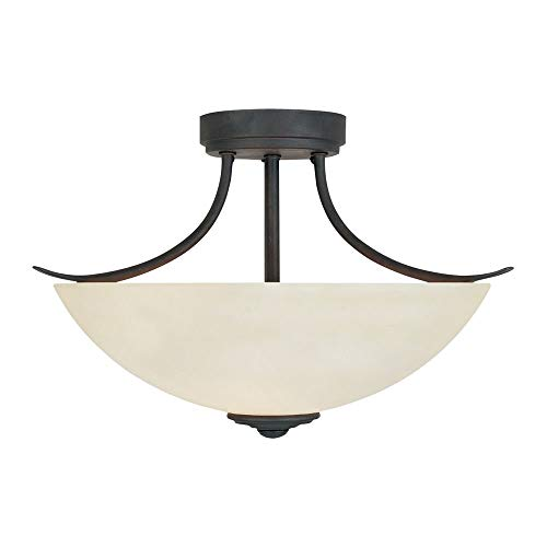 Designers Fountain 96911-ORB Montego Semi-Flush