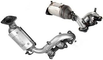 Catalytic Converter 2 Piece Bundle compatible with 2004-2006 Lexus RX330 |  2004-2007 Toyota Highlander | 2004-2006 Toyota Sienna | 3 3L Right+Left