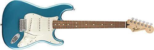 Fender Standard Stratocaster Electric Guitar   Pau Ferro Fingerboard  Lake Placid Blue